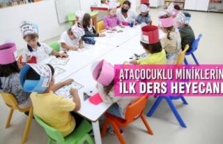 AtaÇocuklu Miniklerin İlk Ders Heyecanı