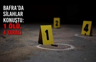 Bafra'da Silahlar Konuştu: 1 Ölü, 4 Yaralı