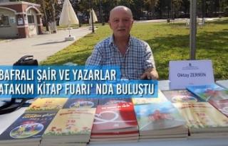 Bafralı Şair ve Yazarlar Atakum Kitap Fuarı'nda...