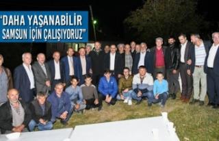 """Başkan Demir: """"Daha Yaşanabilir Samsun İçin..."""