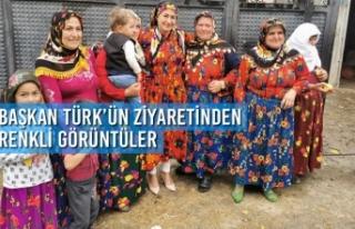 Başkan Türk'ün Vezirköprü Ziyaretinden Renkli...
