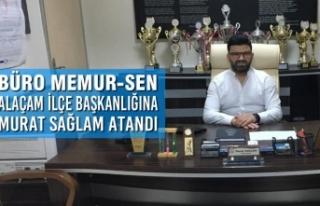 Büro Memur-Sen Alaçam İlçe Başkanlığına Murat...