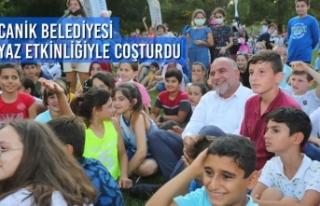 Canik Belediyesi Yaz Etkinliğiyle Coşturdu