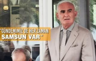 """""""Gündemimiz De Her Zaman Samsun Var """""""