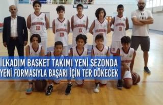 İlkadım Basket Takımı Yeni Sezonda Yeni Formasıyla...