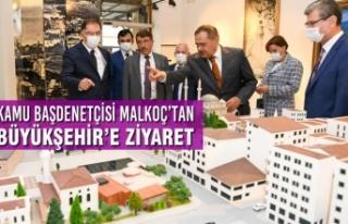 Kamu Başdenetçisi Malkoç'tan Büyükşehir'e...