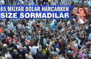 İYİ Parti Genel Başkanı Meral Akşener Bafra'da...