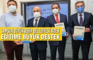 Samsun Büyükşehir Belediyesi'nden Eğitime Büyük...