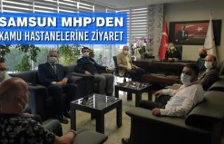Samsun MHP'den Kamu Hastanelerine Ziyaret