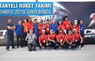 Tanyeli Roket Takımı TEKNOFEST 2021'de Türkiye...