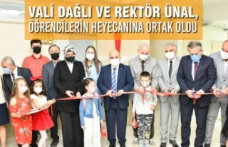 Vali Dağlı Ve Rektör Ünal, 2021-2022 Eğitim-Öğretim...