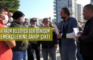 Atakum Belediyesi Geri Dönüşüm Emekçilerine Sahip...