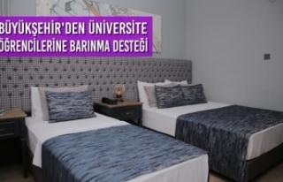 Büyükşehir'den Üniversite Öğrencilerine...