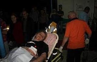Abisi Ve Yengesini Tüfekle Yaraladı