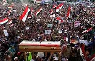 Adeviye'de Gıyabi Cenaze Namazı Kılındı
