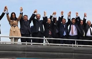 AK Parti Ladik ve Kavak SKM'leri Açıldı
