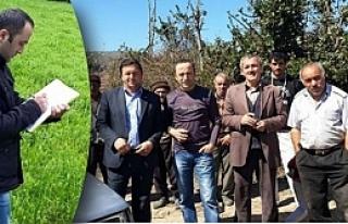 Alaçam'da Yem Bitkisi Arazi Kontrolleri Başladı