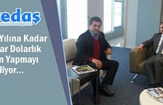 Alparslan'dan YEDAŞ Genel Müdürü Aktürk'e...