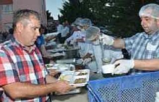 Avluburun Köyü'nde İlk Ramazan Etkinliği