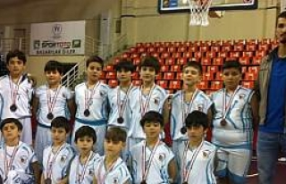 Bafra Basketbol Süper Miniklerde İl 3.Sü Oldu