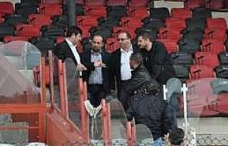 Bafra Stadı'nda Sona Yaklaşıldı