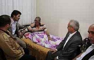 Başkan Çakır Hastaları Ziyaret Etti