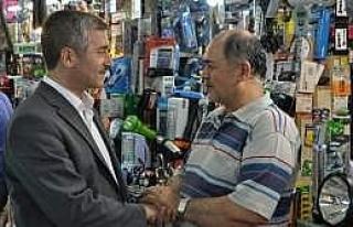 Başkan Tahmazoğlu, Pasaj Esnafını Ziyaret Ederek...