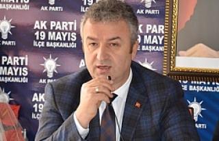 Başkan Topaloğlu; İlçe Danışma Kurulu Toplantısına...
