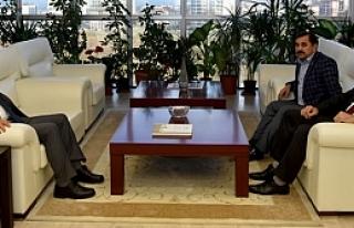Başkanı Hadi Uyar'dan Rektör Bilgiç'e Ziyaret