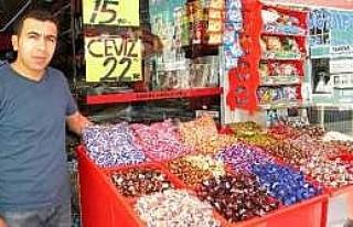 Bayram Şekerleri TezgÂhlardaki Yerini Aldı