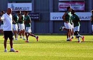 Bursaspor'da Vojvodina Maçı Hazırlıkları Sürüyor...