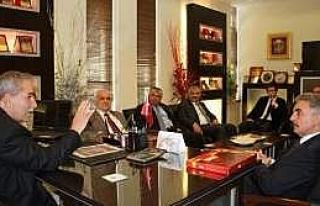Büyükataman, Başkan Demirtaş'ı Ziyaret Etti