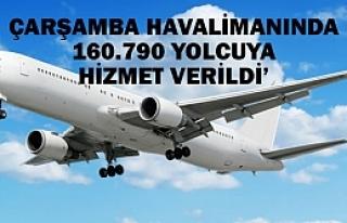 Çarşamba Havalimanı Eylül'de 160.790 Yolcuya...