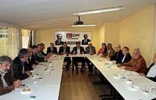 Chp'de Danışma Toplantısı