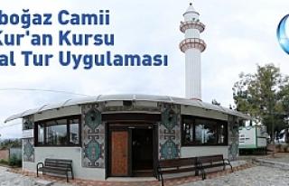 Darboğaz Camii ve Kur'an Kursu Sanal Tur Uygulaması...