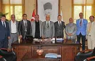Doktob'dan Başkan Gürün'e Ziyaret