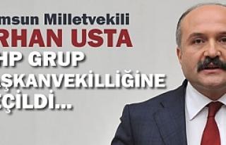 Erhan Usta, MHP Grup Başkanvekililiğine Seçildi...