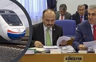 """Erhan Usta; """"Samsun-Ankara Hızlı Tren İhale Sürecinde"""""""
