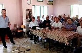 İncirliova'da Kaliteli Kuru İncir Eğitimi