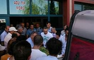 İntihar Eden Polisin Cenazesi Memleketine Uğurlandı...