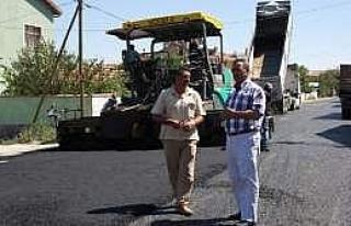 Karatay Belediyesi Asfalt Ekipleri Çalışıyor