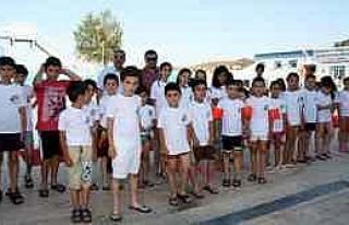 Osmaneli'de Aquapark Hizmete Açıldı