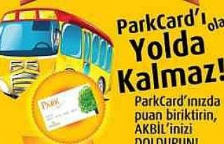 Park Card İle Belediye Otobüsü Akbil Avantajı