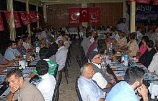 Saadet Partisi Genel Başkanı Mustafa Kamalak Giresun'da...