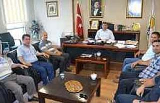 Samoff Ve Servisçilerden Başkan Köktaş'a Ziyaret...