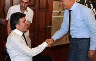 Samsunspor'un Yeni Yönetimi, Başkan Yılmaz'ı...