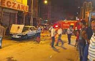 Seyir Halindeyken Yanan Lpg'li Araç Söndürüldü...