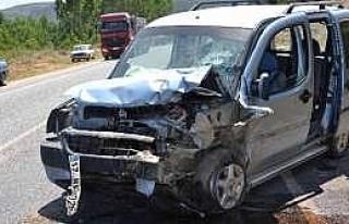 Simav'da Trafik Kazası, 4 Yaralı