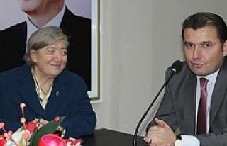 Tülay Bakır'dan Ak Parti Teşkilatı'na Ziyaret