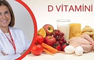 Türkiye'de 3 Yetişkinden 2'si D Vitamini Eksikliği...